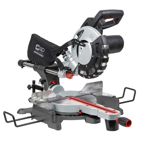 """SIP 01511 10"""" Compound Sliding Mitre Saws with Laser"""