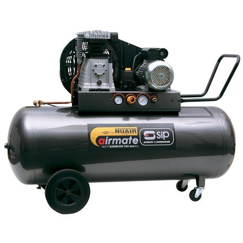 SIP Airmate PN3800B4/200 PRO-TECH Compressor - 06288