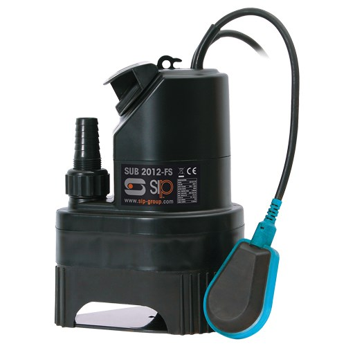 SIP SUB 2012FS Submersible water pump for dirty water - 06817