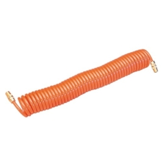SIP coiled air hose with swivel fittings - 07571
