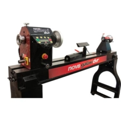NOVA Galaxi DVR 16-44 Lathe with Stand