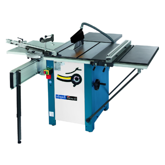 Precisa 3 Sawbench c/w 2.0m Sliding Carriage & Table Width Extension (Replaces Kity 619)