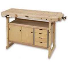 Nordic Plus 1450 Bench c/w Storage Unit