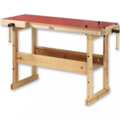 Hobby Plus 1340 Workbench Red Laminate Top