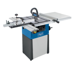 """Precisa TS82 8"""" table saw with sliding table carriage"""