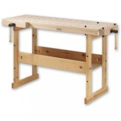 Hobby Plus 1340 Workbench Birch Top c/w 0042 Storage Unit