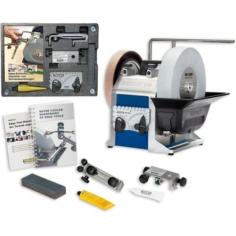 T-8 Sharpening System + Woodturner's Kit Package Deal