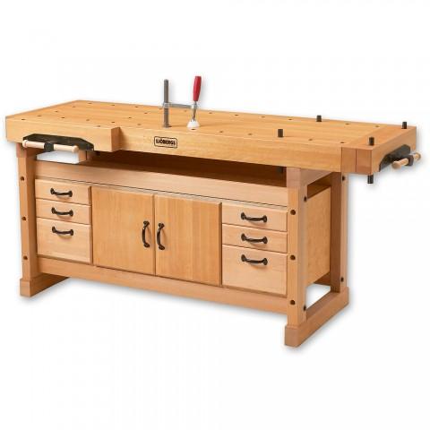 Sjobergs Elite 2000 Cabinet Makers Bench c/w Storage Module SM04