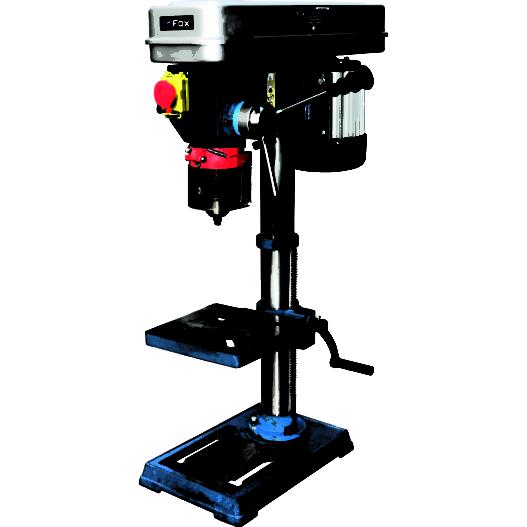 Fox 16mm Pillar Drill - F12-942A - Poolewood Machinery & Tools
