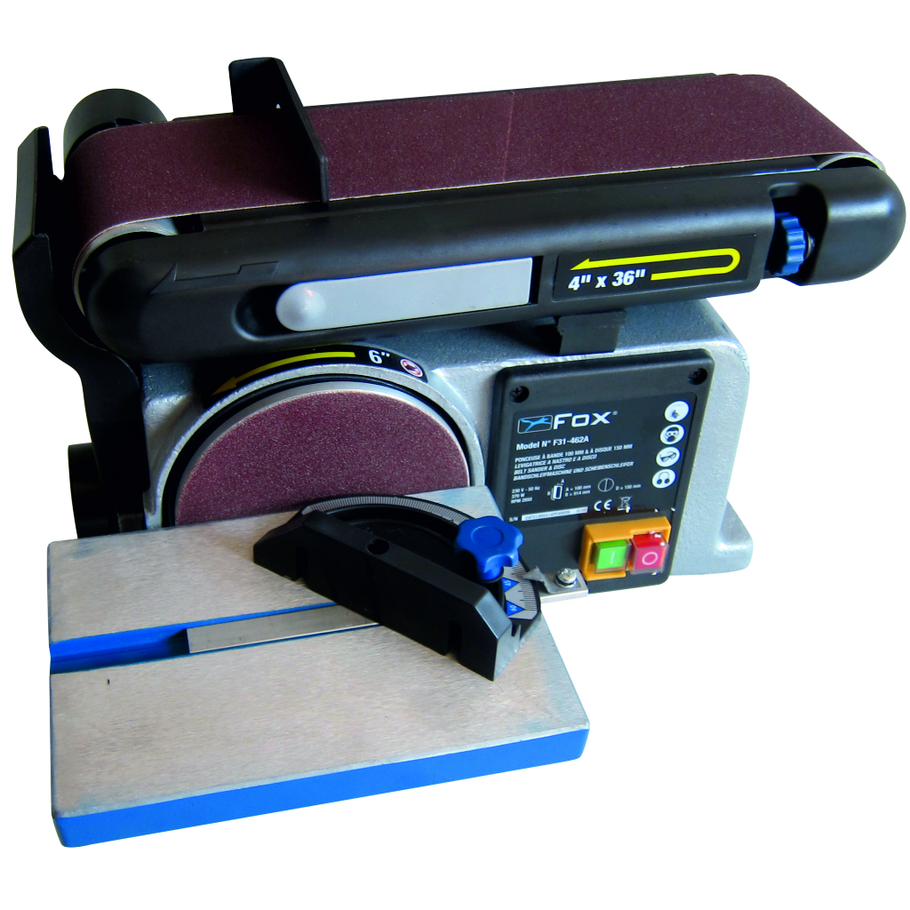 Fox F31-462A 4in Belt & 6in Disc Sander