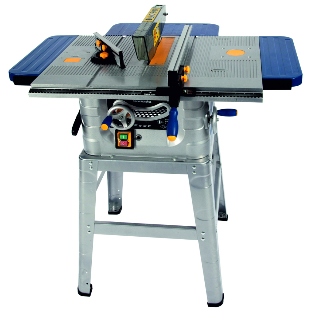 "Fox 10"" Table Saw C/W Leg Stand - F36-527 - Poolewood"