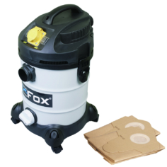 Wet & Dry Extractor 240V. With a pack of 5 Dust Collection Bags