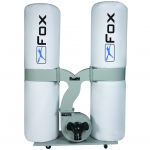 Fox F50-843 twin bag dust extractor
