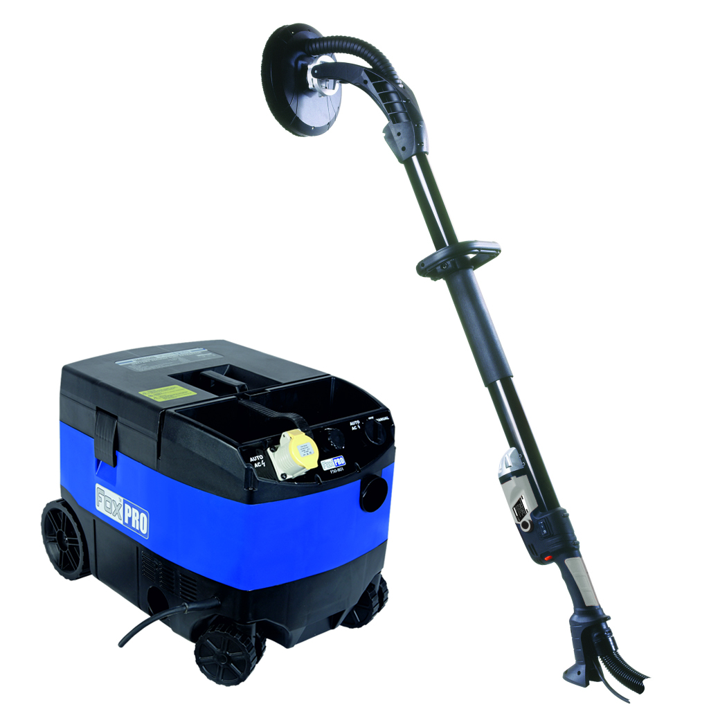 Fox drywall sander vacuum package fdw 550 f50 801 for Drywall delivery cost