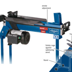 Scheppach HL760LS 7 Ton Log Splitter - 5905209903S