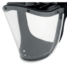 JSP Replacement non-impact flexible visor (Bradwest type) for Powercap. Not for use on IP models. Not impact rated