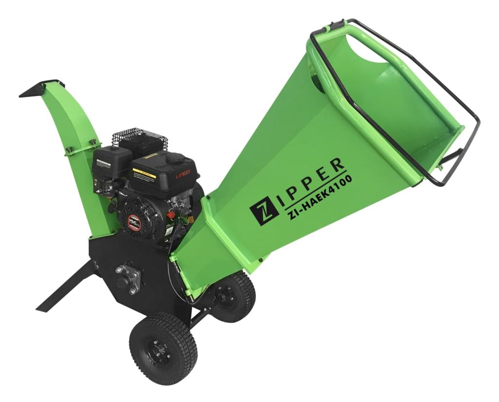 Zipper Haek4100 Petrol Garden Shredder Chipper Poolewood