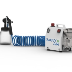Sanitising SANY-AIR Compressor