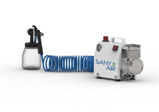 Sanitising SANY-AIR Compressor