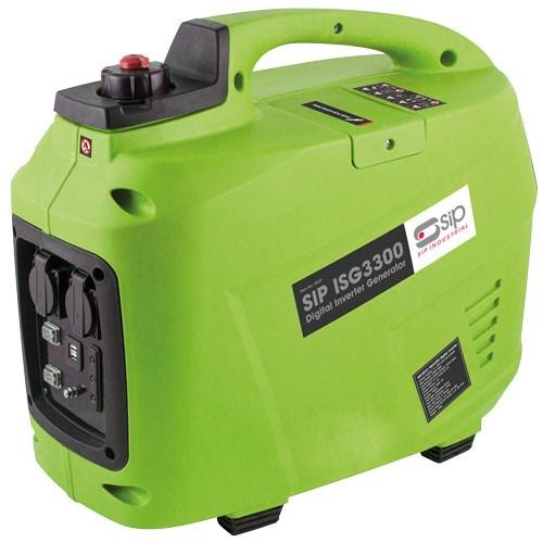 SIP ISG3300 Digital Inverter Generator Green