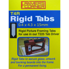 Rigid Tabs 2500 Pack