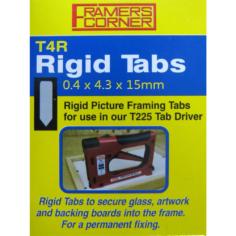 Charnwood Rigid Tabs T4R 2500 Pack - T4R