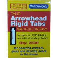 16mm Arrow Head Tabs 2500pcs For T240