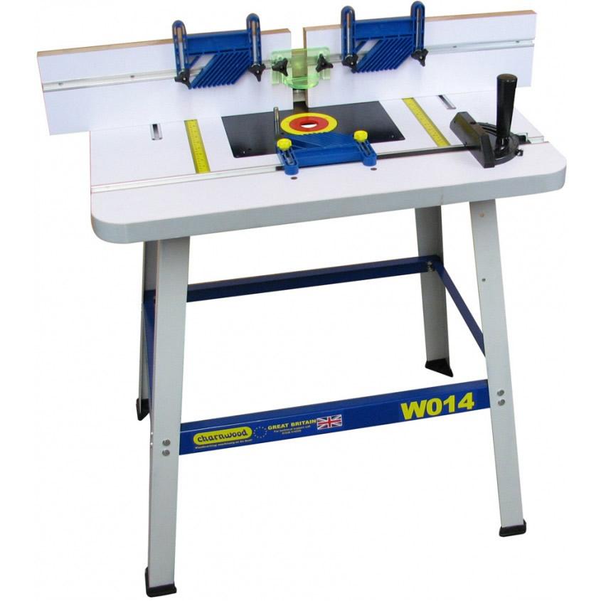 Charnwood W014 Floorstanding Router Table