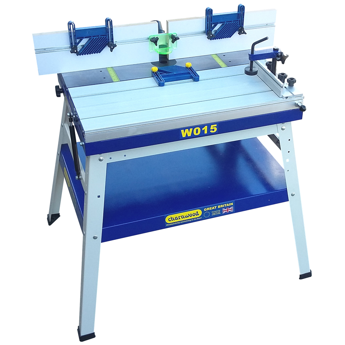 Charnwood W015 Cast Iron Router Table - W015 - Poolewood