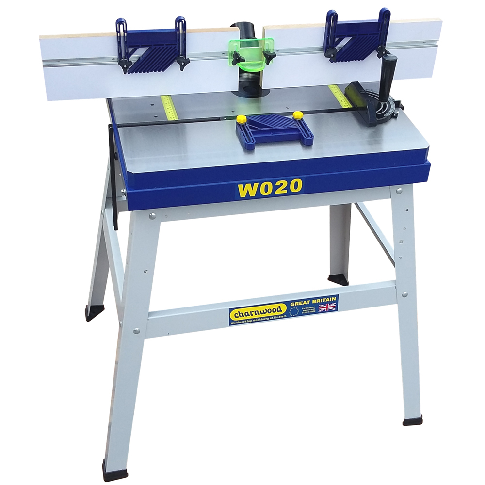 Charnwood W0202P Cast Iron Router Table - Poolewood