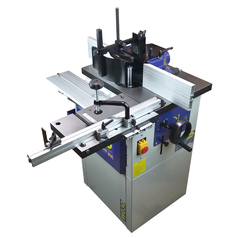 Charnwood W030 spindle moulder for woodworking- Poolewood