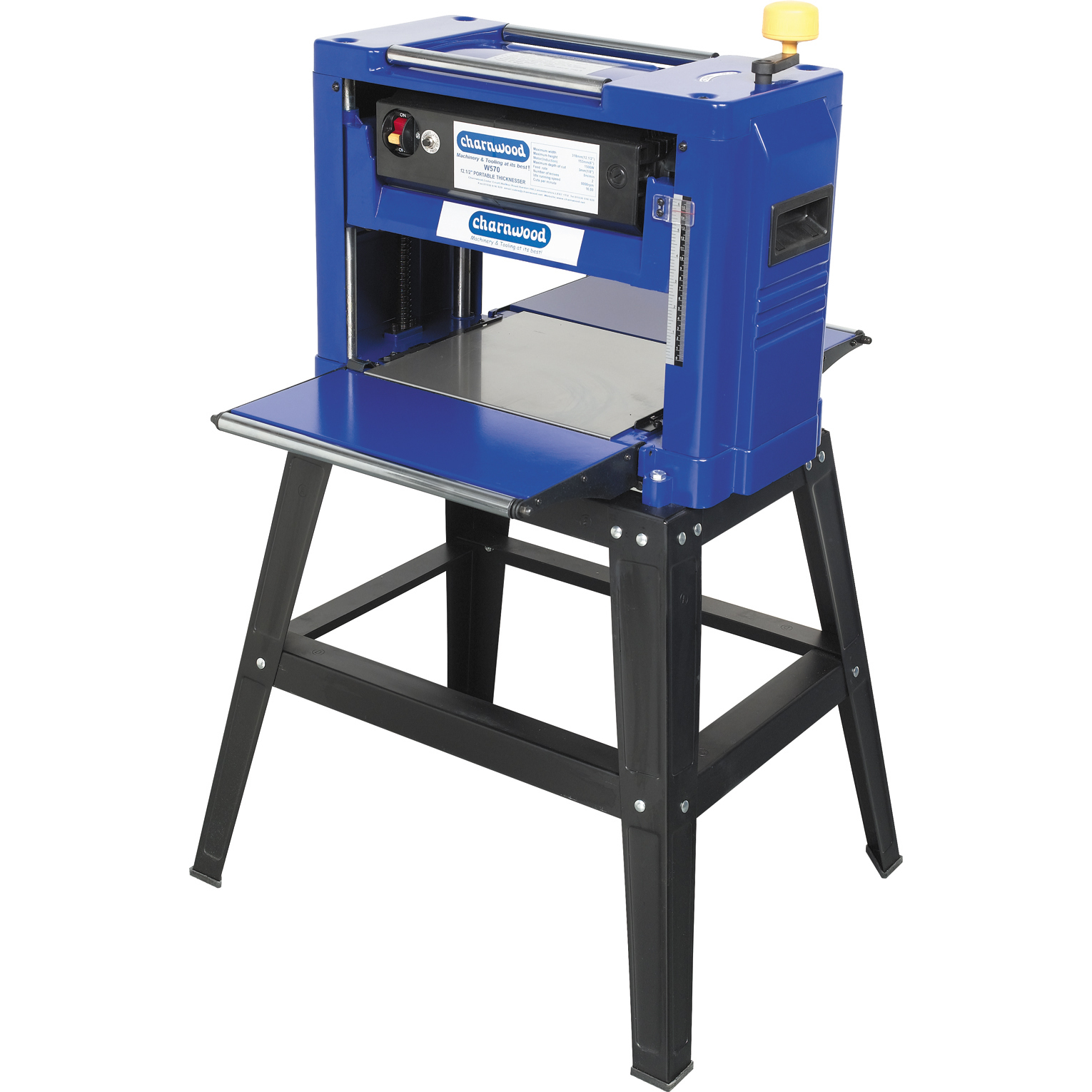 Charnwood 12″ Bench Top Thicknesser W570P – Poolewood
