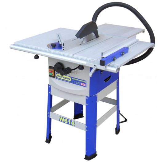 Charnwood W616 Table Saw with floorstand