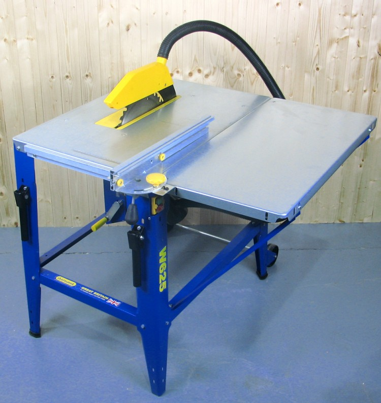Charnwood 12 Contractors Table Saw W625 Poolewood