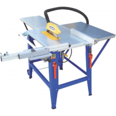 Charnwood W625P table saw with sliding carriage and width extension