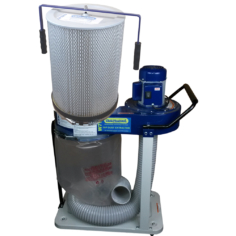 1 HP Professional Dust Extractor with 1 micron cartridge filter