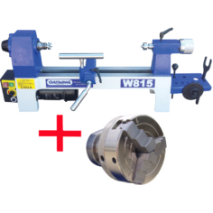 Mini Lathe with W810 Collet Chuck