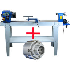 Woodturning Lathe Package Deal with NEXUS3 Chuck