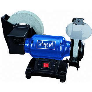 """Scheppach BG200W 8"""" & 6"""" Wet & Dry Grinder 230v"""