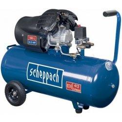 Scheppach HC 100DC Double cylinder air compressor 3.0hp motor