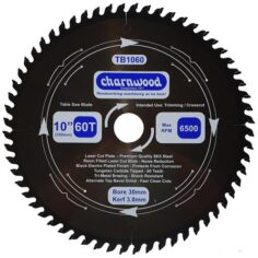 Charnwood TB1060 TCT Saw blade 250mm