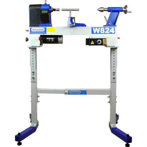 W824 lathe on ULEG leg stand